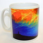 Prayer fires mug by Joanna Ray