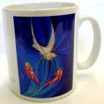 Welcome Holy Spirit mug by Yvonne Bell