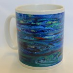 Times of refreshing mug by Diane Fairfield