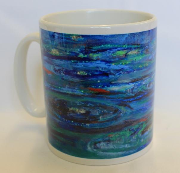 Times of refreshing mug by Diane Fairfield
