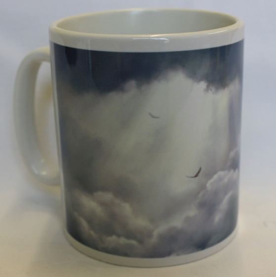 Rising up mug by James Martin