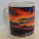 God's light mug by Dawn Waters-Baker