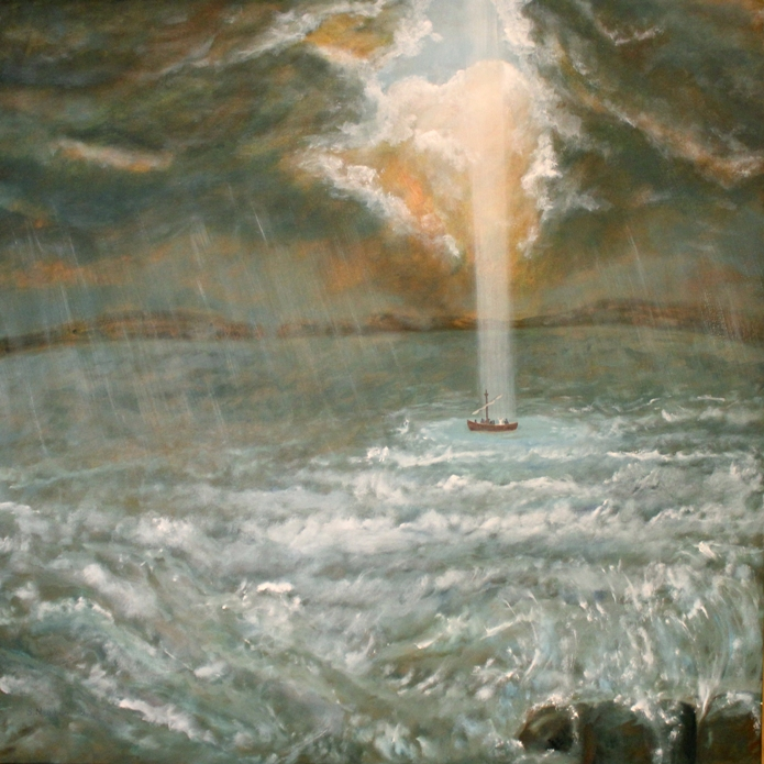 Calming the storm by Sue Newham