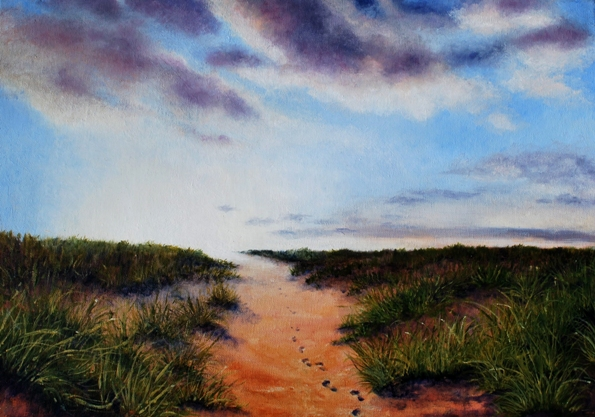 A light on my path by Chris Jennings