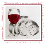 Bread and wine by Gez Sullivan