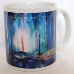 You light my way mug by Colin Burns