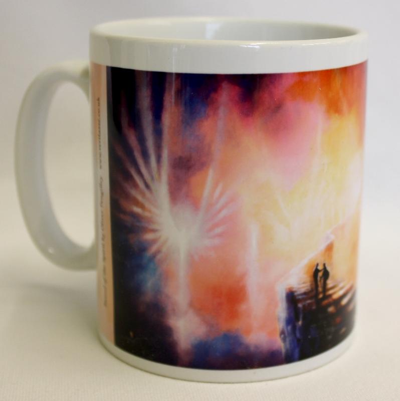 Sword of the Spirit mug by Oliver Pengilley