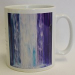 Pour over me 7 mug by Sue Newham