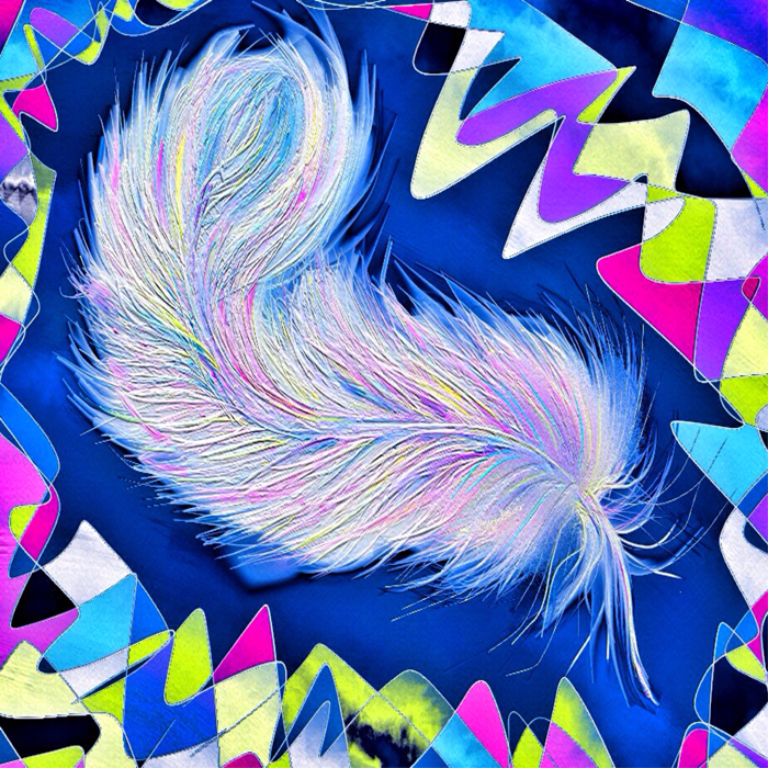 Feather by Claire Bower