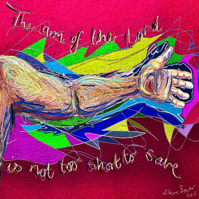 The arm of the Lord by Claire Bower