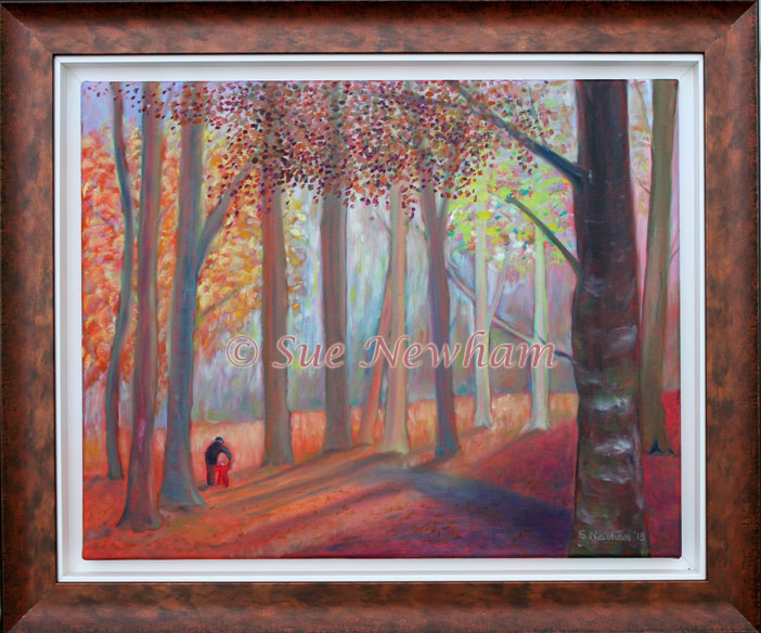 First steps in autumn by Sue Newham