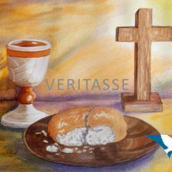 Bread and wine by Jean Mintoft