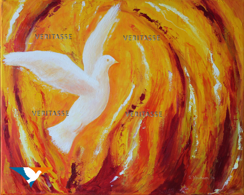 Pentecost original by Sue Newham