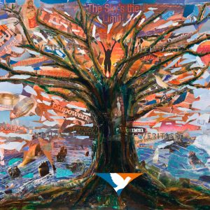 Rooted liberation original by Carl Irving