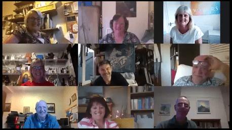 Snapshot of artists gathering 25-05-2020