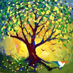 Tree of life by Mark Wiggin