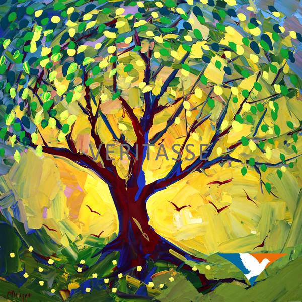Tree of life by Mark Wiggin