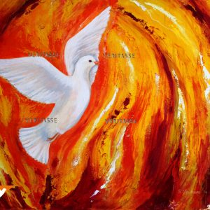 Pentecost original by Sue Newham