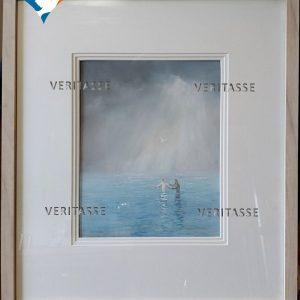 Baptism of Jesus by James Martin, framed