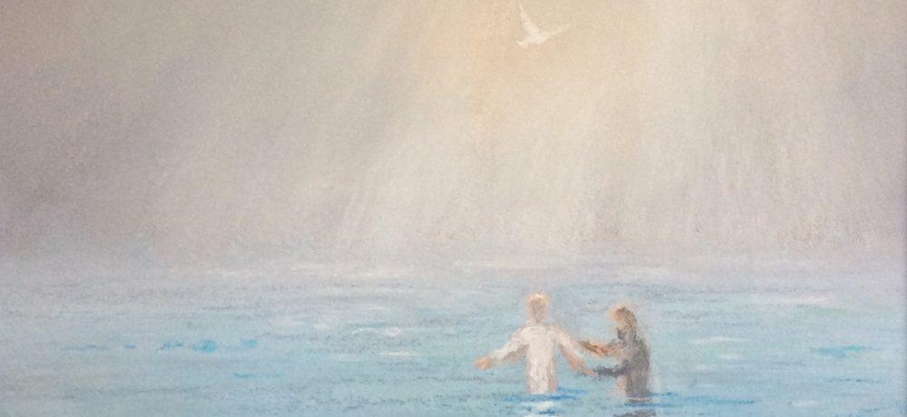 Baptism of Jesus by James Martin