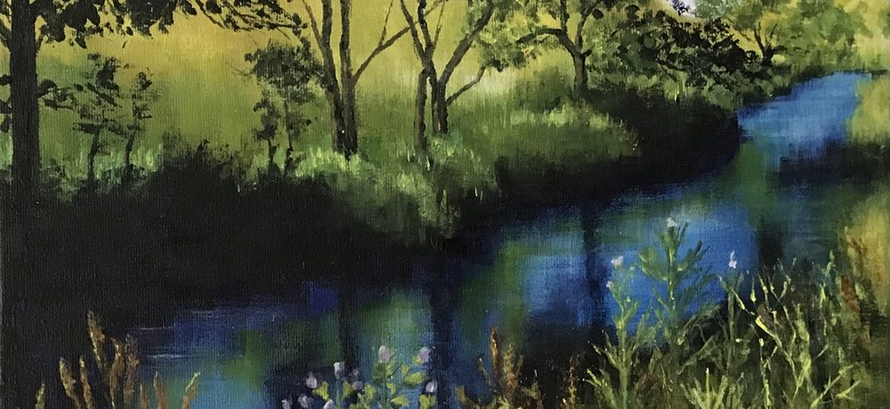 Quiet waters by Chris Jennings
