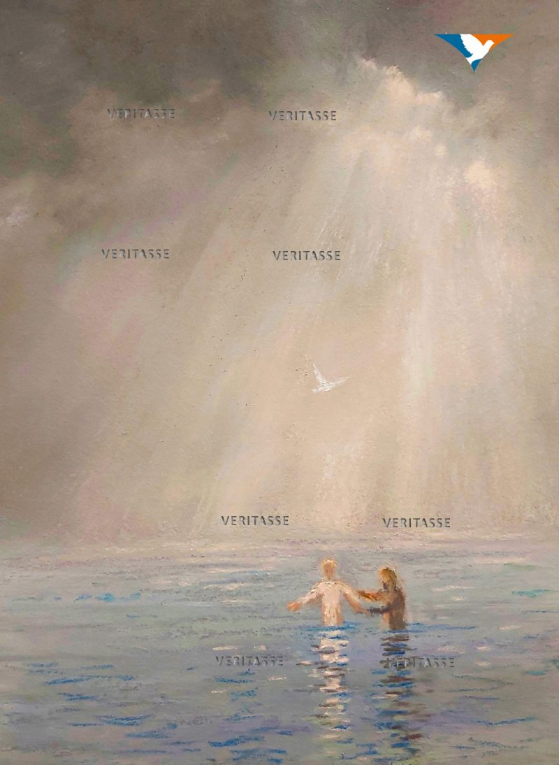 The baptism of Jesus by James Martin