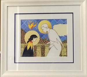McMullen- The annunciation framed