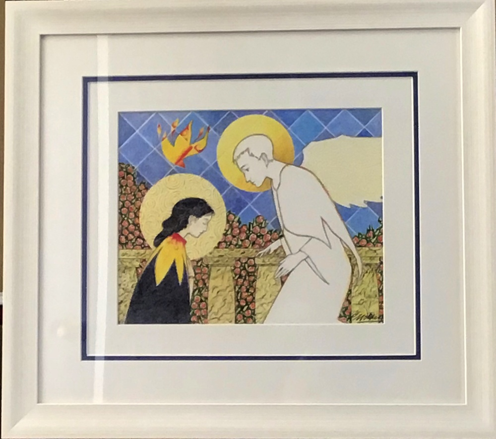 The annunciation by Philip McMullen