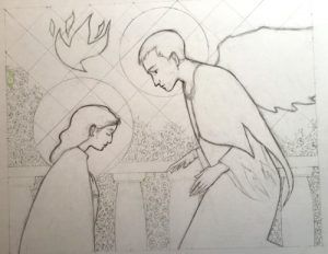 The annunciation by Philip McMulleni