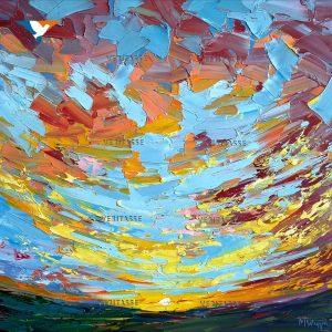SOLD Bejewelled Skies by Mark Wiggin