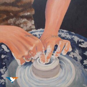 The potter by Jean Mintoft