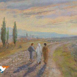 SOLD Road to Emmaus by James Martin