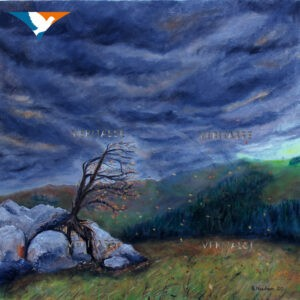 SOLD The storm will pass by Sue Newham